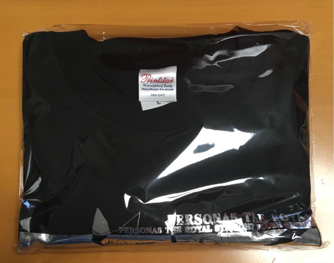 送料無料 新品未開封 アートTシャツ 単品 ペルソナ5 ザ・ロイヤル 限定 ロイヤルストレートフラッシュエディション 特典 シャツ 即決