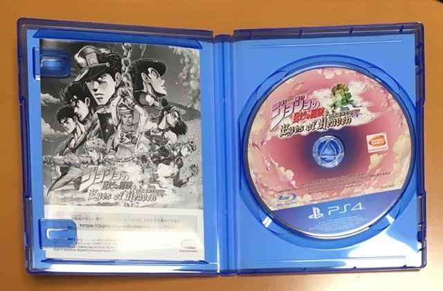 美品 送料無料 PS4 ジョジョの奇妙な冒険 アイズオブヘブン JOJO Eyes of Heaven アイズオブヘヴン 天国 EOH 即決 動作確認済 匿名配送