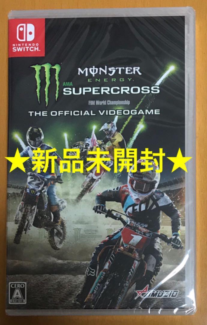 ニンテンドー スイッチ Monster Energy Supercross The Official Videogame Nintendo Switch モンスターエナジー スーパークロス 任天堂
