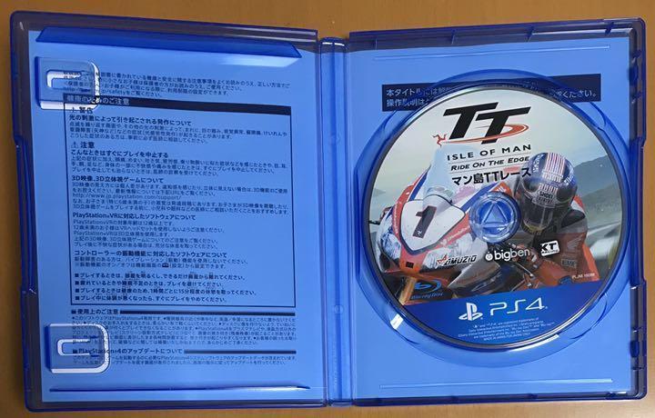 送料無料 PS4 マン島TTレース TT Isle of Man Ride On The Edge マンとう ティーティーレース プレイステーション4 Playstation4 即決