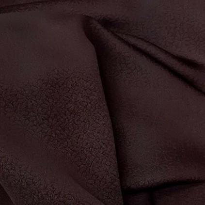 生地 正絹 シルク 薄手 赤紫 えんじ色 無地 C2 はぎれ ハギレ リメイク