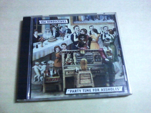 The Vindictives - The Compleat Partytime For Assholes☆Methadones Riverdales Screeching Weasel