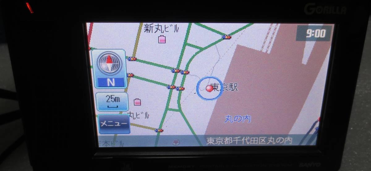 本体のみ  NV-SB260DTA SANYO サンヨー ポータブルナビ ワンセグ _画像2