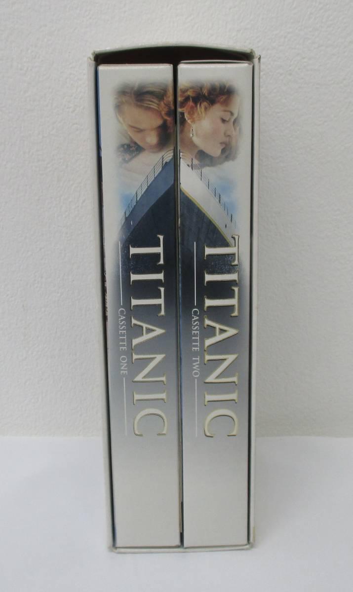映画 【TITANIC】 タイタニック 全編 後編 2本組 VHS ビデオテープ レオナルド・ディカプリオ_画像5
