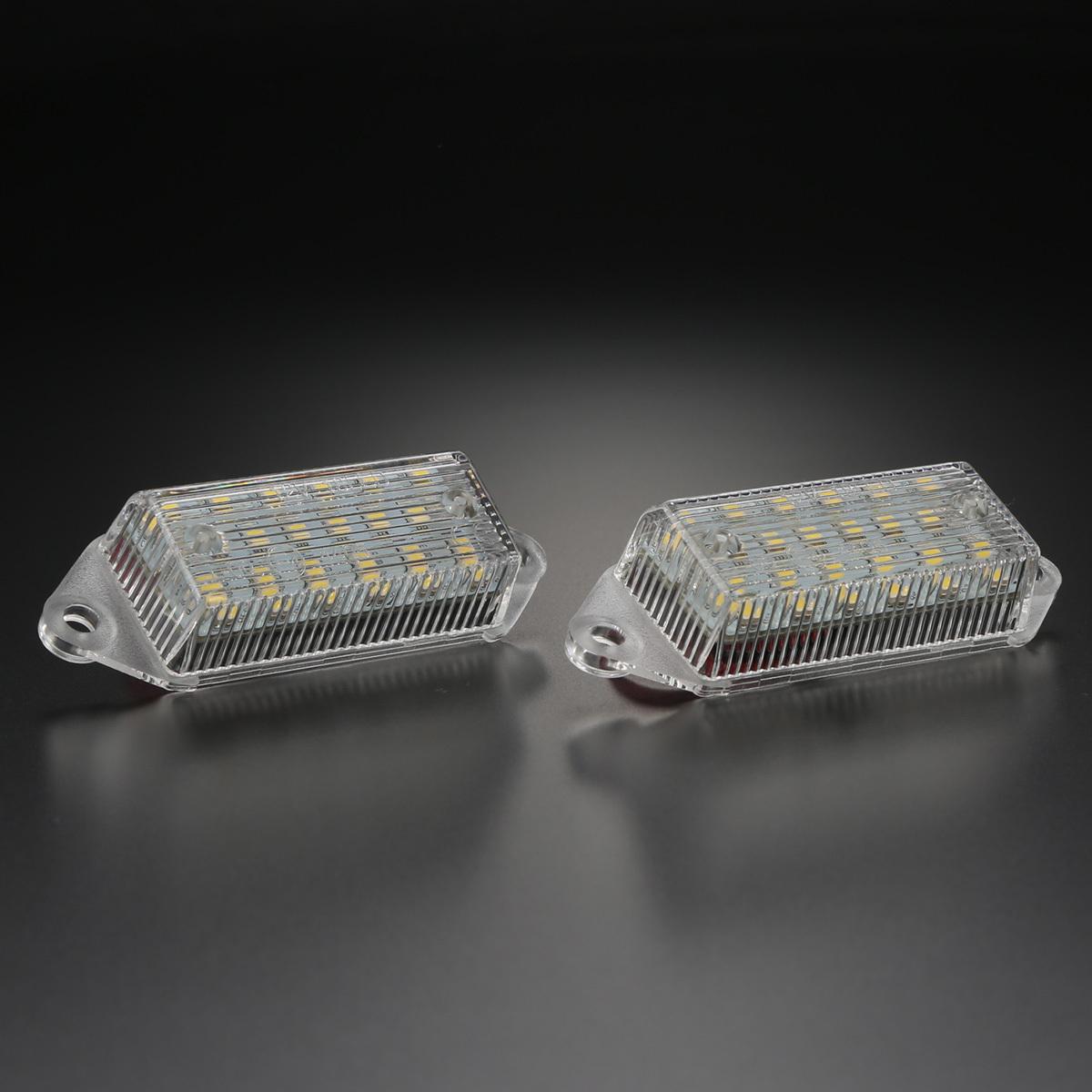 ランサーエボリューション10 CZ4A CY系 ギャラン フォルティス LED ライセンスランプ ナンバー灯 6000K ホワイト ランエボⅩ R-463_画像5