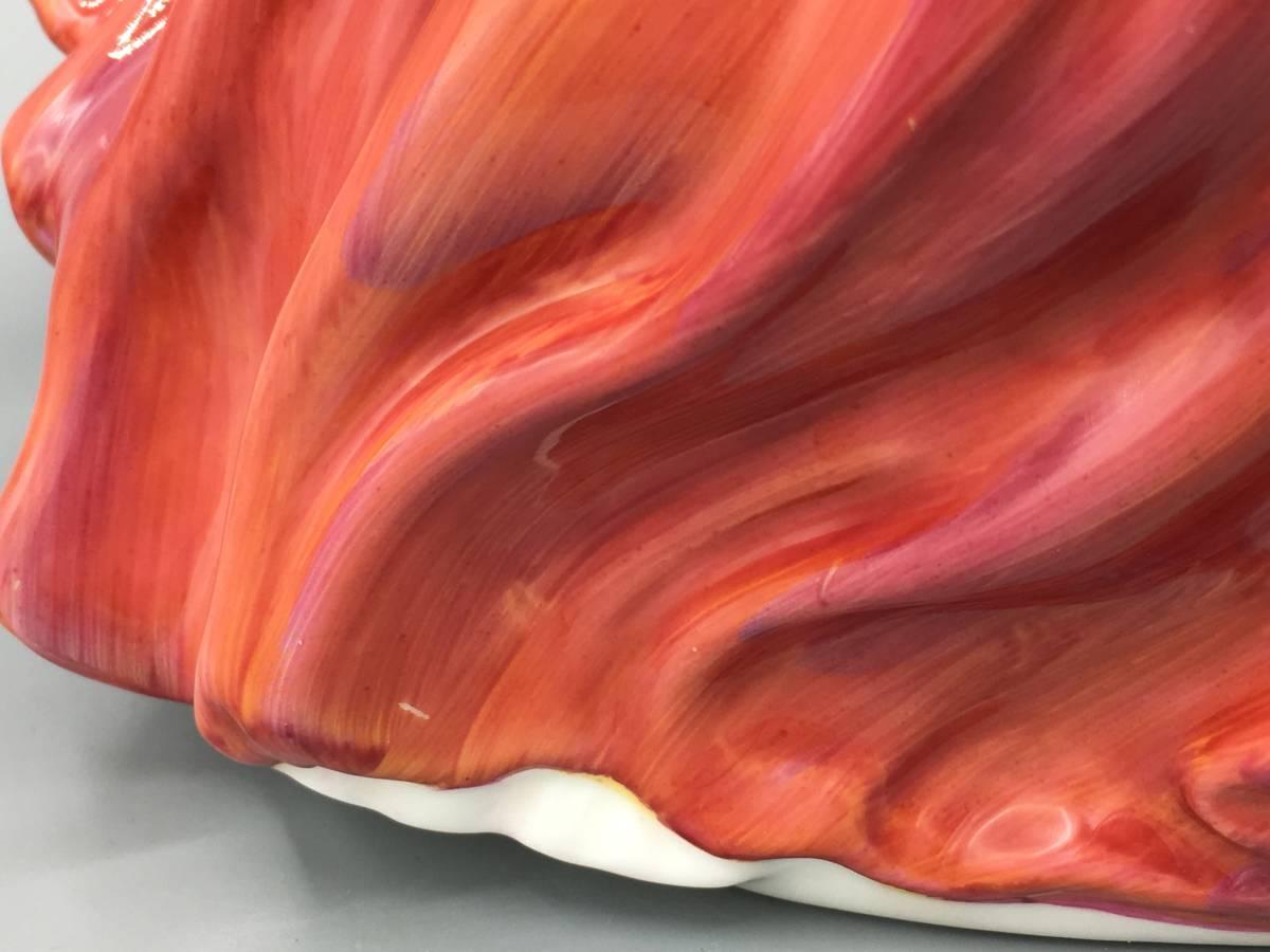 ロイヤルドルトン 秋のそよ風 フィギュリン スペイン製 陶器 置物 陶器人形 婦人_画像3