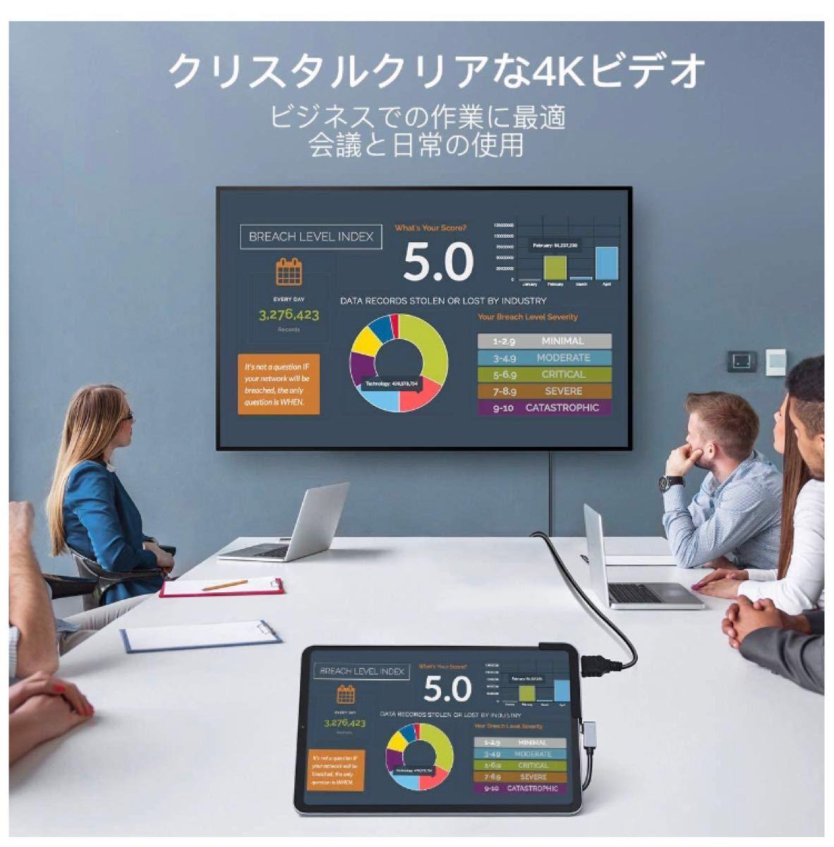 【新品未開封】ドッキングステーション USB-C ハブ iPad MacBook