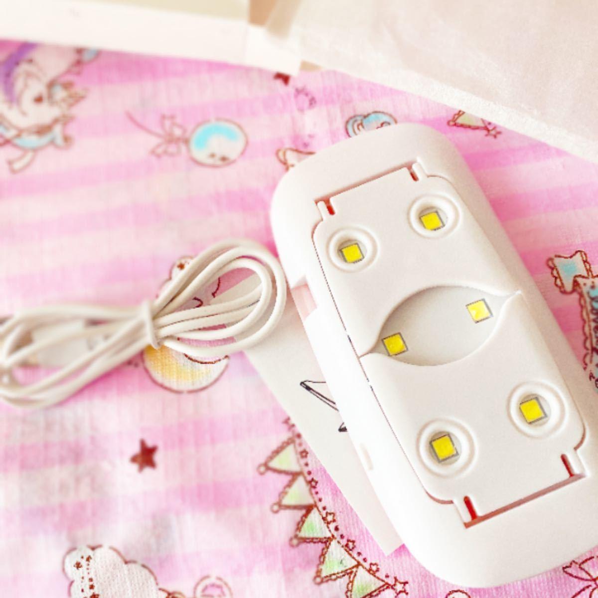 SALE 薄型 コンパクト ジェルネイルライト レジン LED