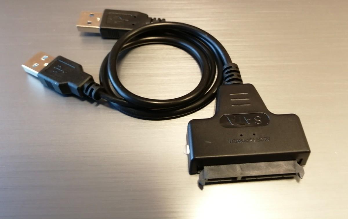 2.5HDD / SSD ケーブル SATA USB 2.0 【新品】