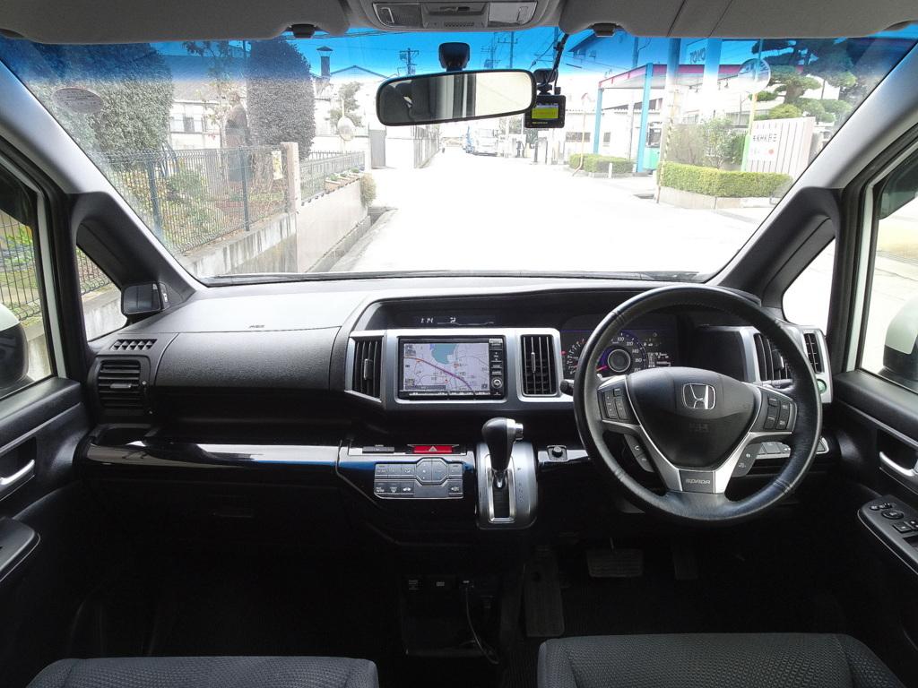 「ステップワゴン 後期 スパーダZ 実走行 I-STOP HDDナビ フルセグTV バックモニター 両側電動オートスライド スマートキー クルコン HID ETC」の画像3