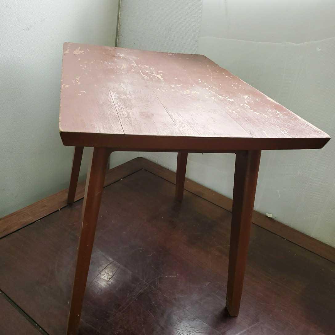 *松本民芸家具 サイドテーブル 木製 W63.5cm×D42.5cm×H50cm格安売り切りスタートG_画像2