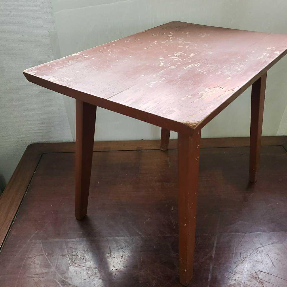 *松本民芸家具 サイドテーブル 木製 W63.5cm×D42.5cm×H50cm格安売り切りスタートG_画像3