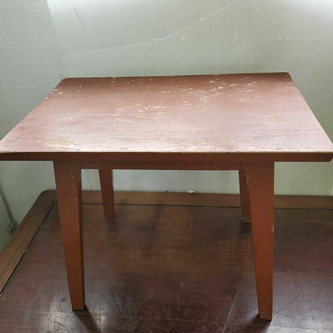 *松本民芸家具 サイドテーブル 木製 W63.5cm×D42.5cm×H50cm格安売り切りスタートG_画像1