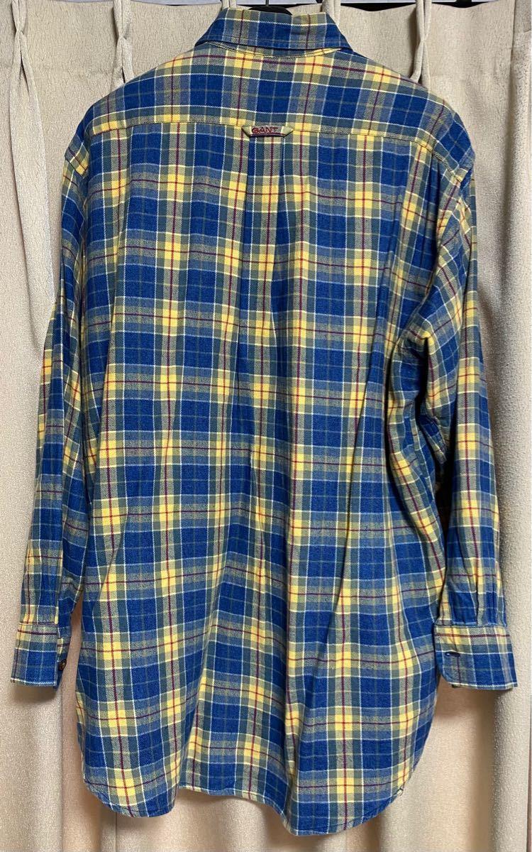 チェックシャツ ネルシャツ GANT 長袖(最終処分価格!)