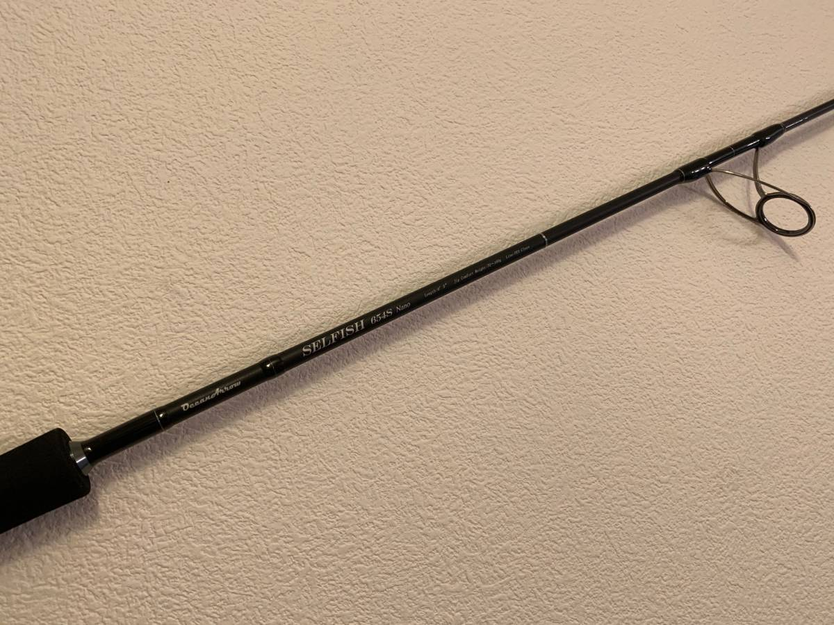 【RippleFisher】リップルフィッシャー・セルフィッシュ654S Nano 美品_画像1