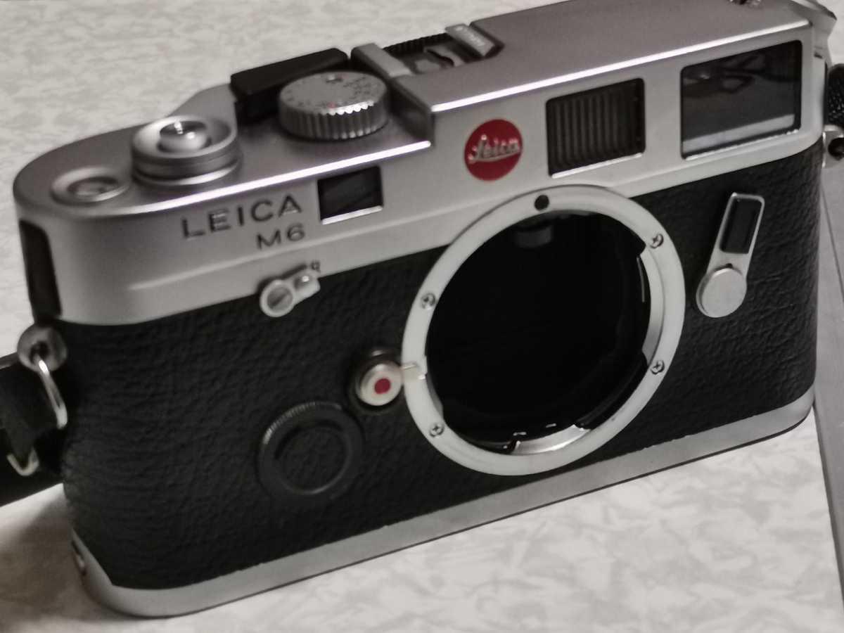 Leica m6 1円スタート 最終売り切り 現品1点のみ ライカ M6 美品おまけあり