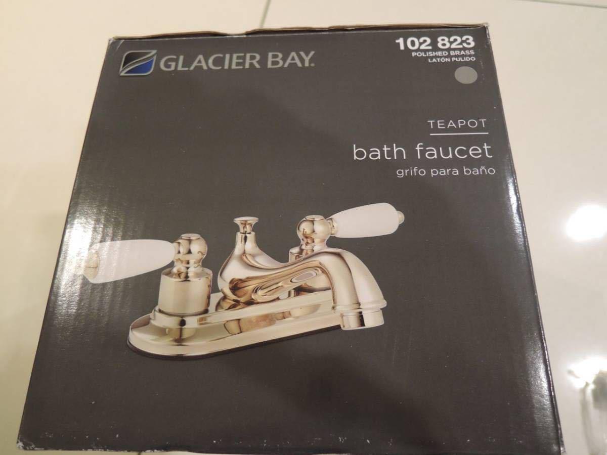 新品【GLACIER BAY洗面用2ハンドル混合水栓用カートリッジ】(水用お湯用)1セット漏水修理に! 並行輸入品☆送料無料☆_ゴールド、シルバー共通です