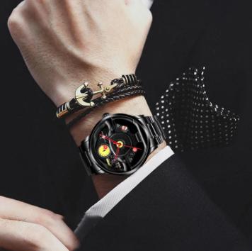 ファッション 防水 スポーツ 腕時計 メンズ クォーツ腕時計 男性レロジオmasculino_画像4