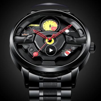ファッション 防水 スポーツ 腕時計 メンズ クォーツ腕時計 男性レロジオmasculino_画像1