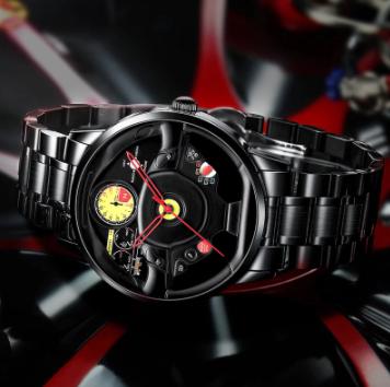 ファッション 防水 スポーツ 腕時計 メンズ クォーツ腕時計 男性レロジオmasculino_画像6