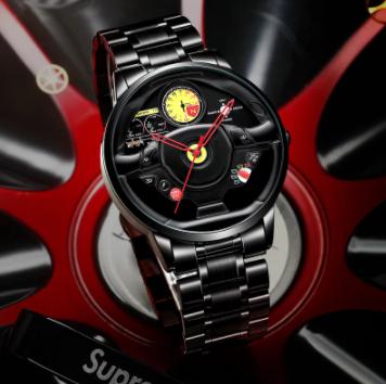 ファッション 防水 スポーツ 腕時計 メンズ クォーツ腕時計 男性レロジオmasculino_画像2