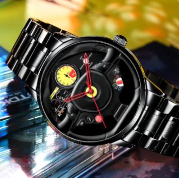 ファッション 防水 スポーツ 腕時計 メンズ クォーツ腕時計 男性レロジオmasculino_画像7