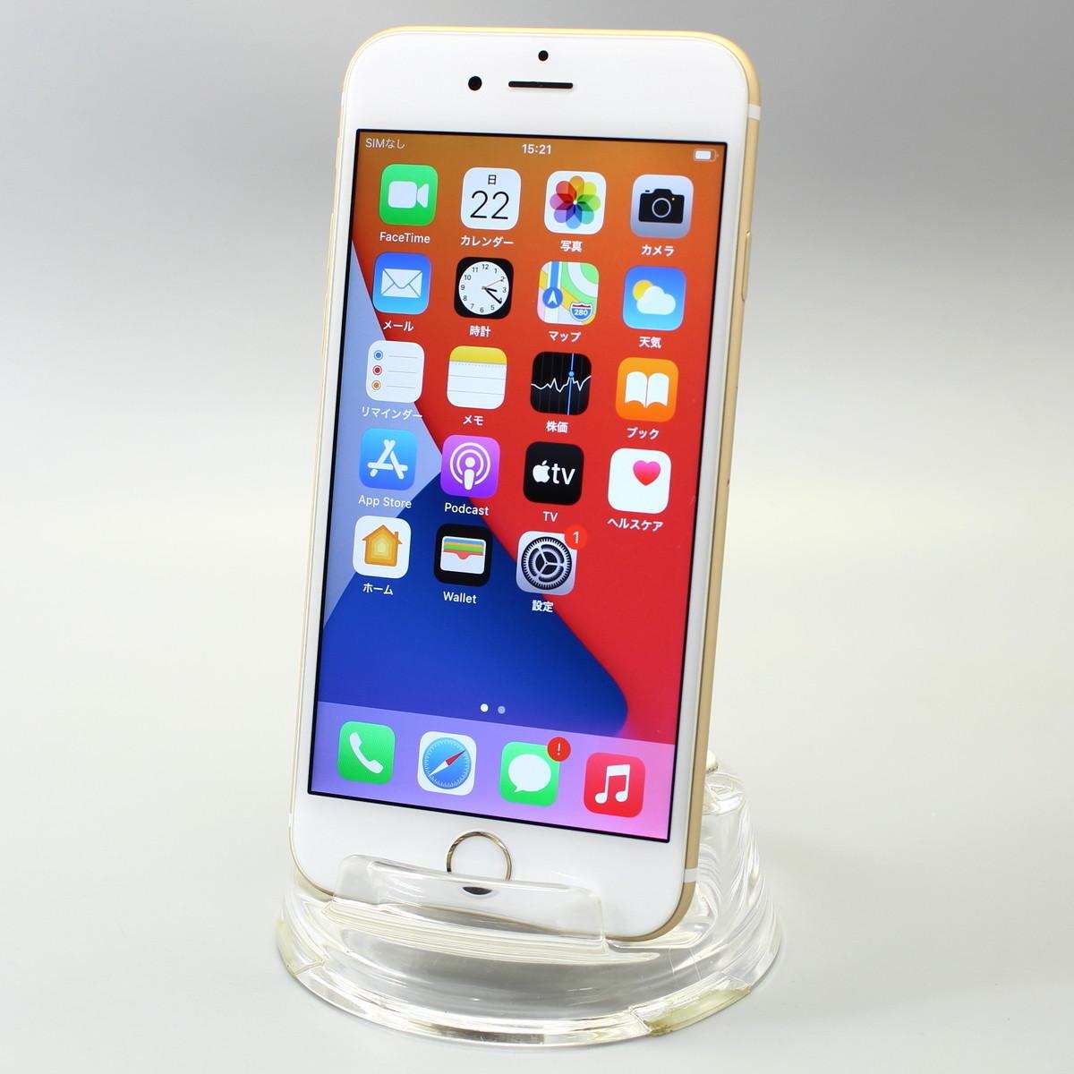 Apple iPhone6s 128GB ゴールド A1688 NKQV2J/A バッテリ80%■ドコモ★Joshin0972【送料無料・1円】