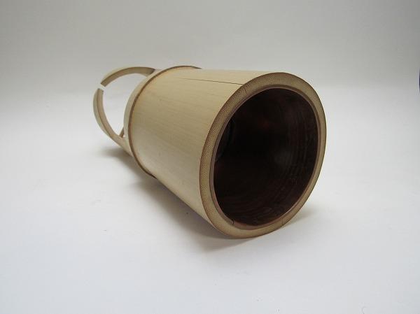 211304【古い 竹製 花生け 箱無 華道具】検)花器 花入れ 花瓶 茶道具 茶器 お点前 和室 茶室 インテリア おもてなし レトロ 古玩 ii_画像5