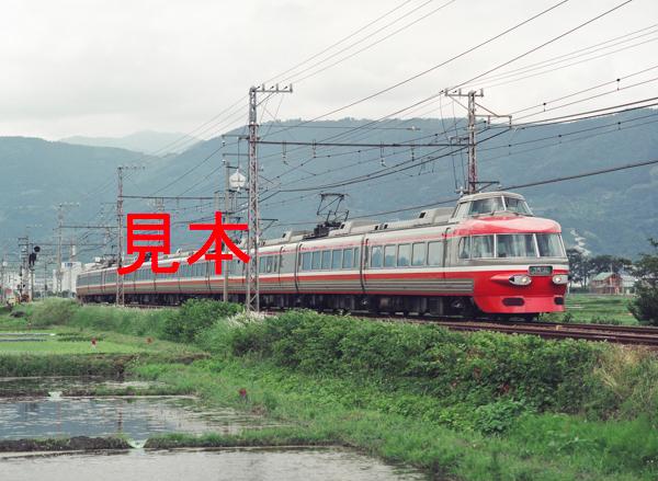 鉄道写真、645ネガデータ、115297960007、3100形、ロマンスカーあしがら号、小田急電鉄、開成~栢山、1999.06.10、(4282×3136)_画像1