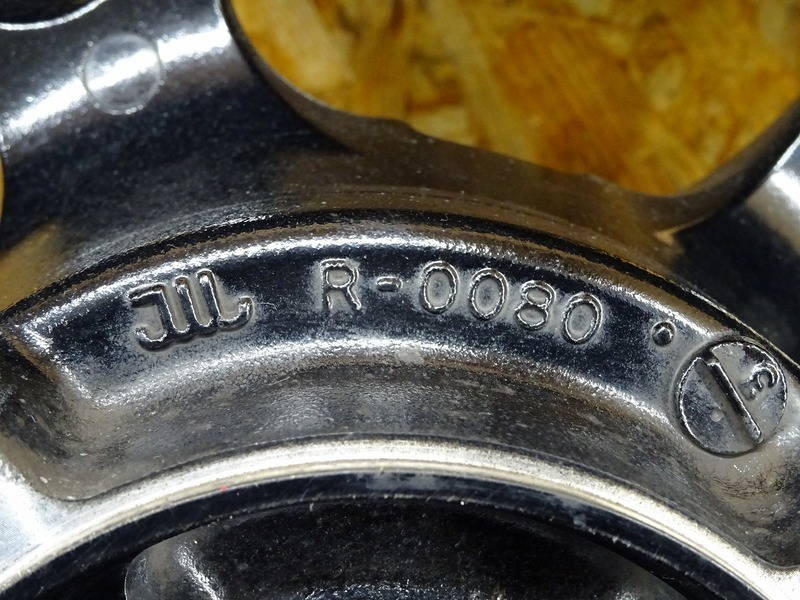 【201101】ZRX1200D(ZRT20D-001)◇ リアホイール 17×5.50 【DAEG ダエグ_画像5