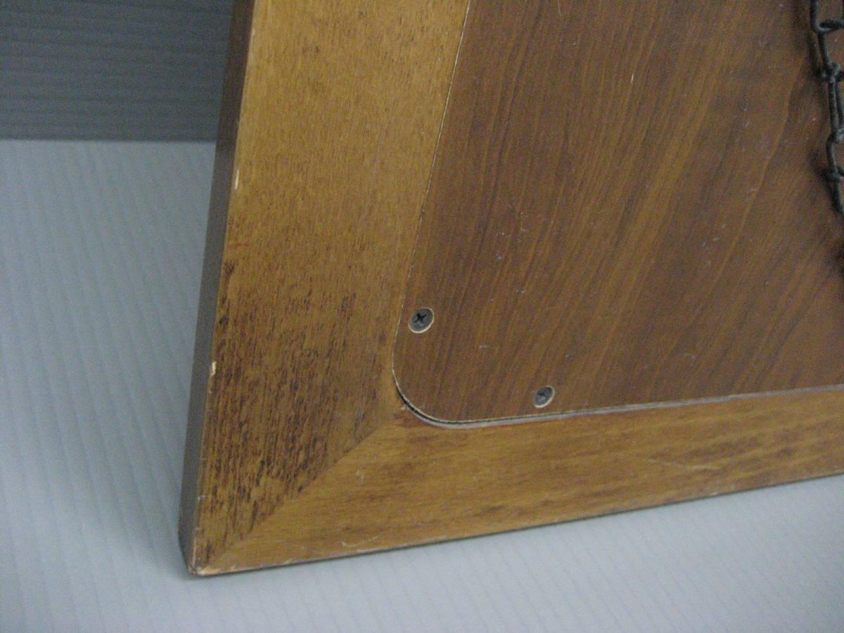 【茶々】カリモク壁掛けミラー ウォールミラー 木製_画像6