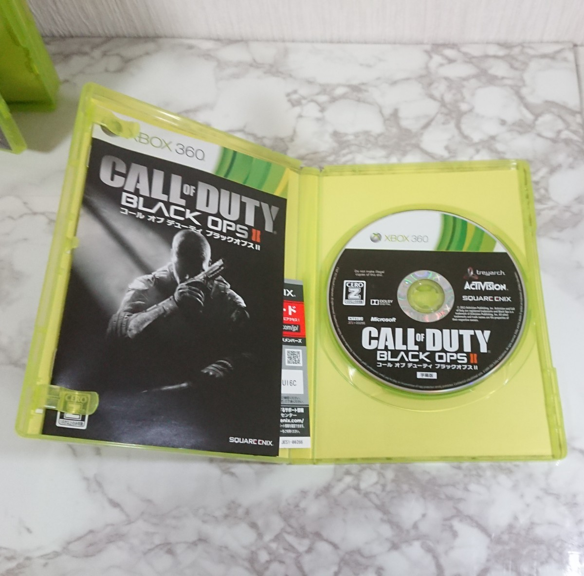 Xbox360 ソフト コールオブデューティ