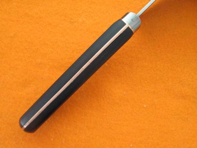 切れ味抜群 本割込「兼景」小さな高級三徳包丁 140mm