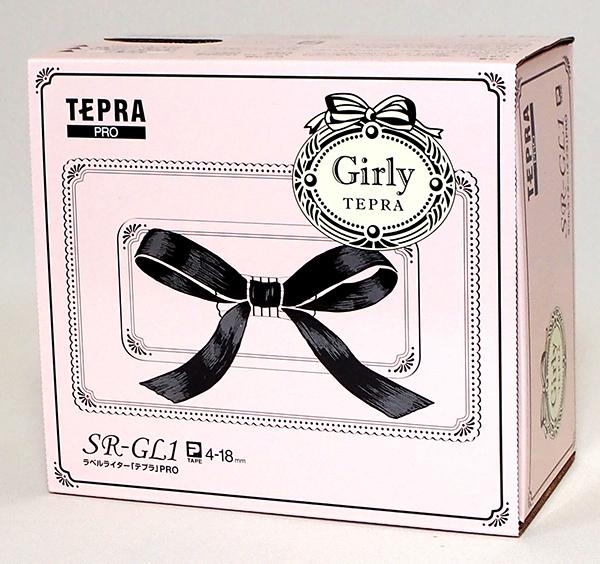 ◆キングジム テプラ PRO SR-GL1 シェルピンク  ラベルライター _画像1