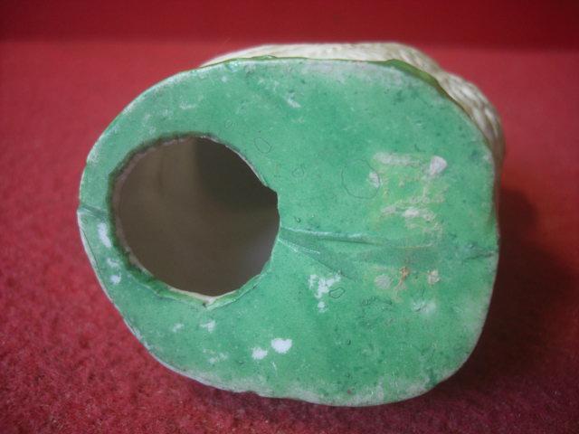 239-H714 レトロ にわとり 陶人形 貯金箱  陶磁器_画像4