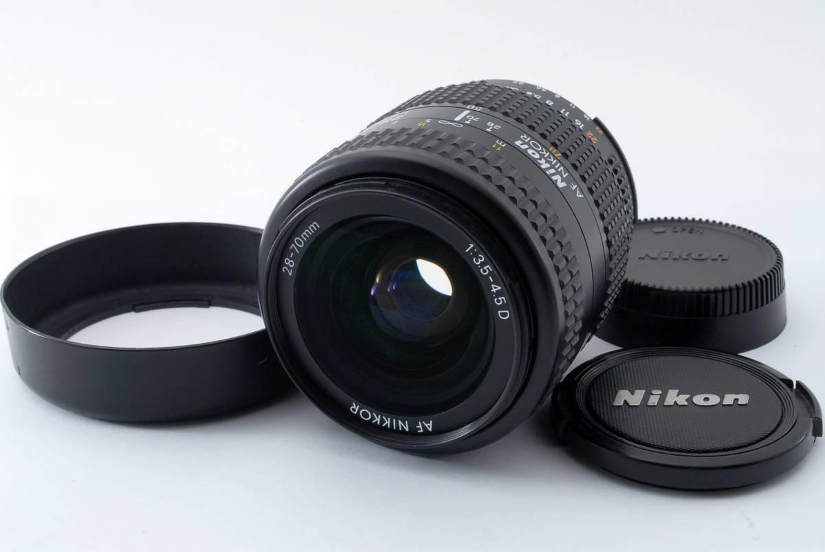 Nikon ニコン AF NIKKOR 28-70mm f/3.5-4.5 D Zoom Lens オートフォーカス ズームレンズ カメラレンズ 108