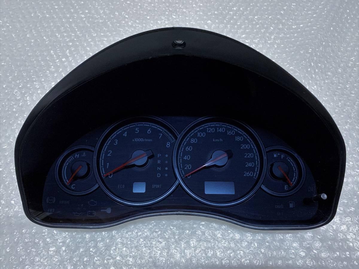 STI 260キロ フルスケール スピード メーター 850 0 0AG 16 レガシィ BL BP 前期 BL5 BP5 AT チューンド バイ スバル 純正 内装 インテリア