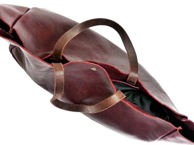 即決★N.B.★オールレザートートバッグ メンズ 赤 ワインレッド 本革 ハンドバッグ 本皮 かばん 通勤 カバン 鞄 レディース 手提げバッグ_画像7