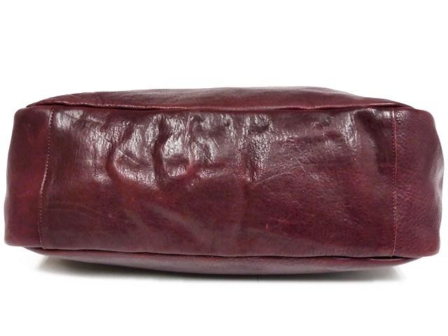 即決★N.B.★オールレザートートバッグ メンズ 赤 ワインレッド 本革 ハンドバッグ 本皮 かばん 通勤 カバン 鞄 レディース 手提げバッグ_画像6