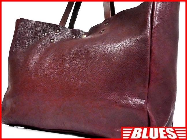 即決★N.B.★オールレザートートバッグ メンズ 赤 ワインレッド 本革 ハンドバッグ 本皮 かばん 通勤 カバン 鞄 レディース 手提げバッグ_画像1