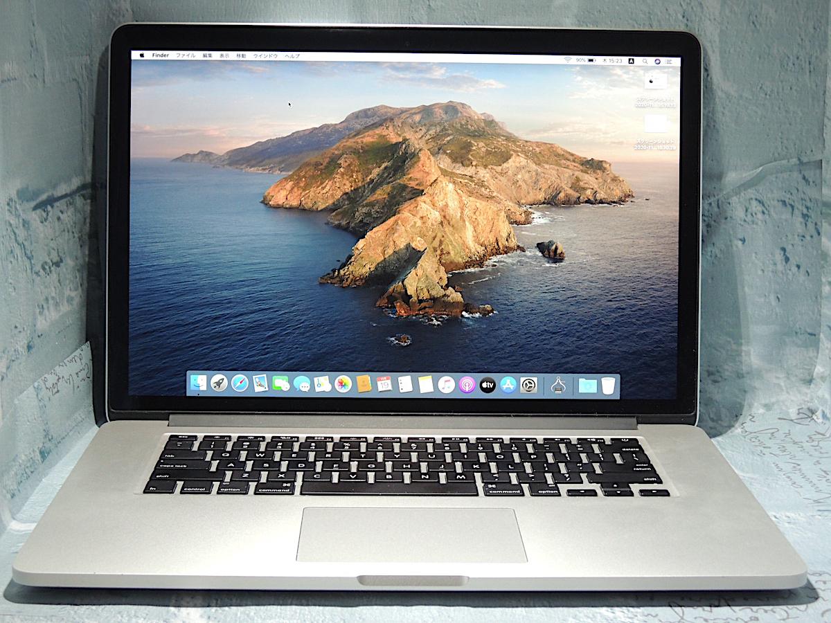 きれい 1TB PCIe SSD搭載 CTO 最高 MacBook Pro Retina 15-inch Mid 2015 Quad Core i7 2