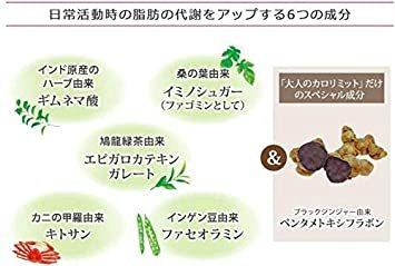 1袋 ファンケル (FANCL) 大人のカロリミット (約30日分) 120粒 [機能性表示食品]サプリメント_画像4