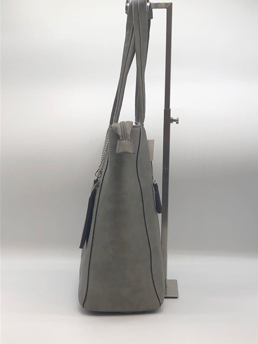 トートバッグ ハンドバッグ 最軽量 初期不良の為 理由あり品 グレー A4対応