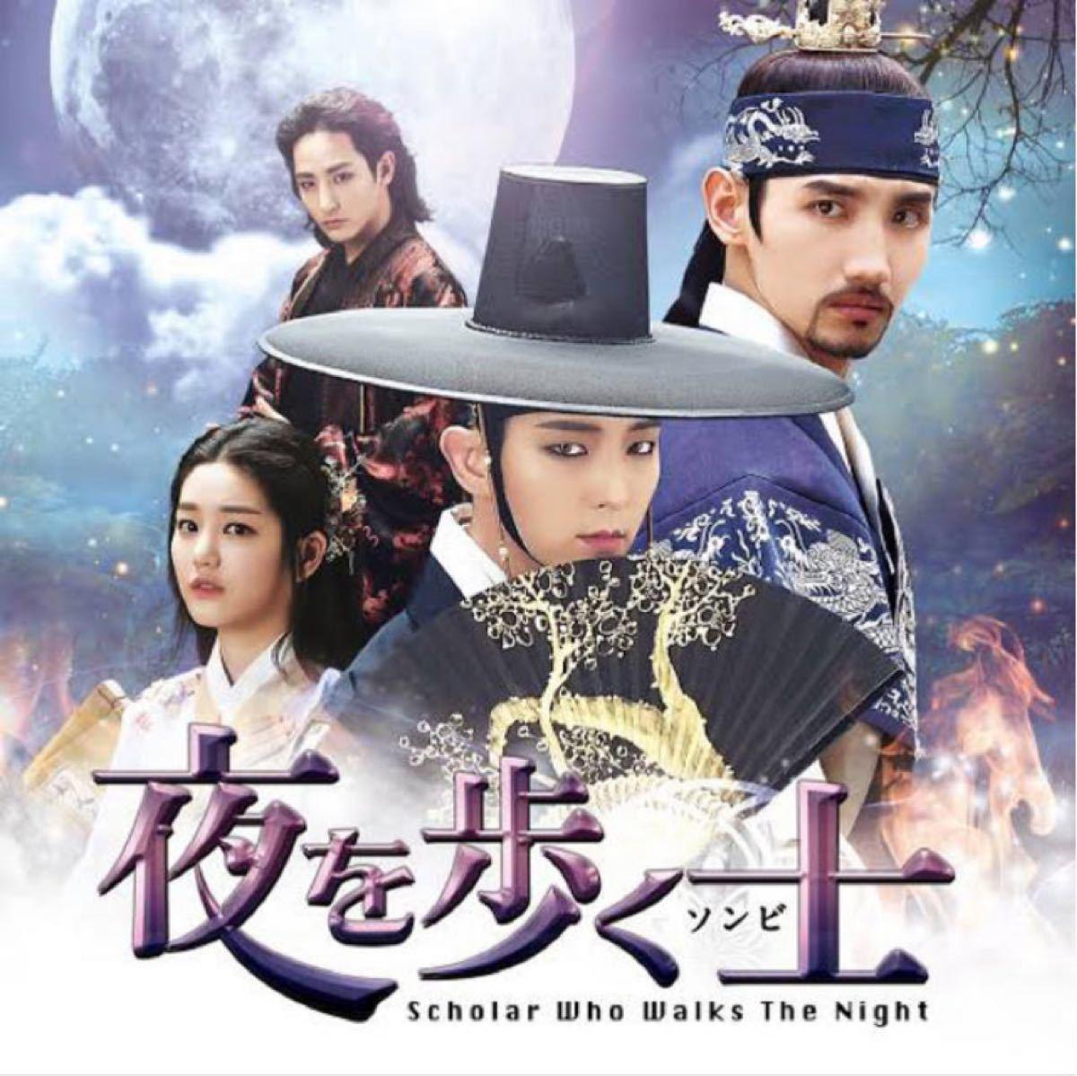 ☆韓国ドラマ☆『夜を歩く士』Blu-ray  全話 CDケース入