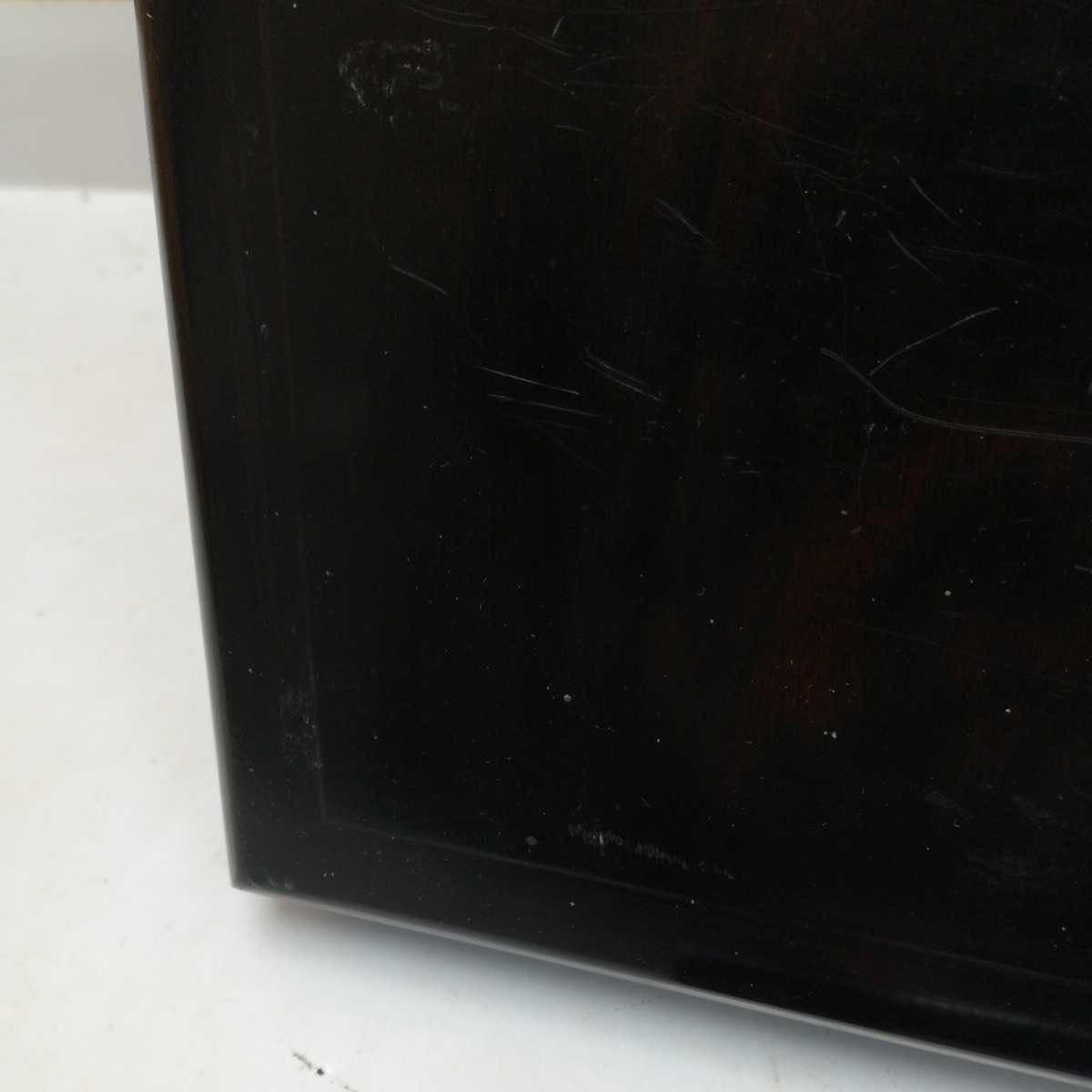 唐木花台 古美術 飾り台 盆栽台 香炉台 華道具 茶道具 骨董美術品 30.8×21×4.2cm_画像5