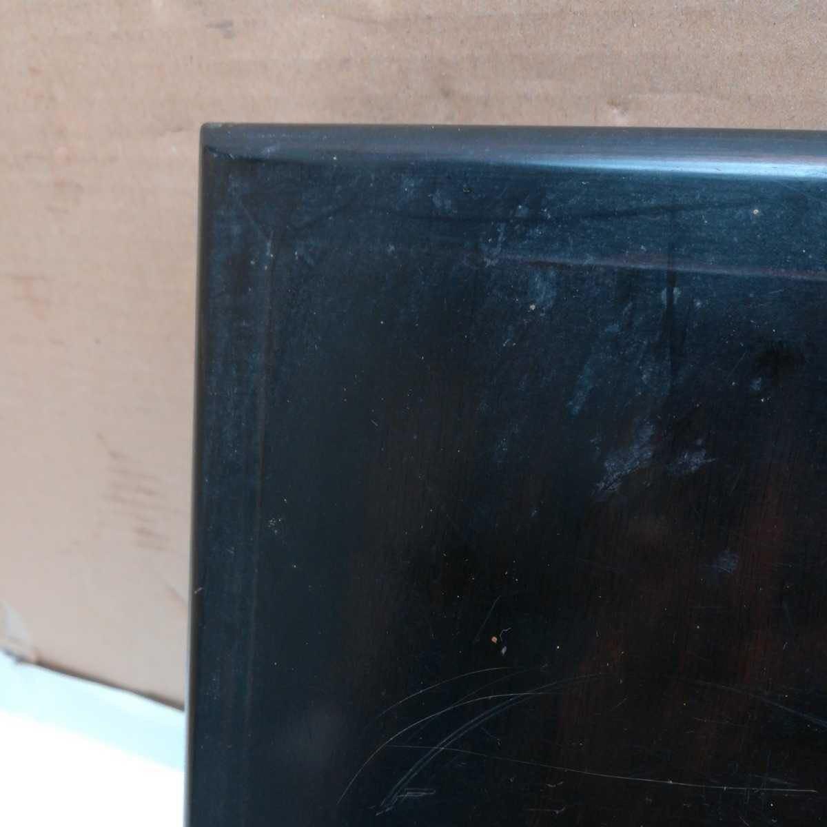 唐木花台 古美術 飾り台 盆栽台 香炉台 華道具 茶道具 骨董美術品 30.8×21×4.2cm_画像4