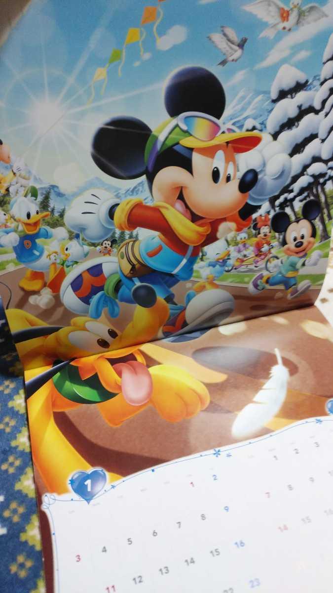 ディズニー カレンダー 2021 壁掛け ミッキーマウス_画像2