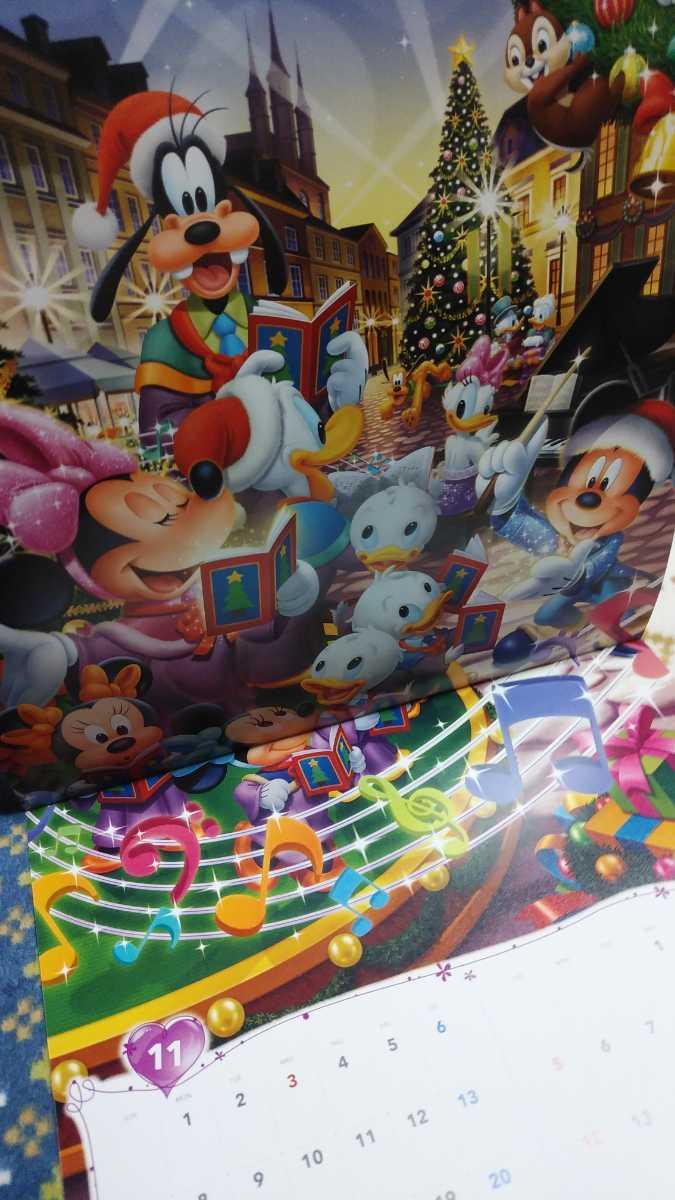 ディズニー カレンダー 2021 壁掛け ミッキーマウス_画像7
