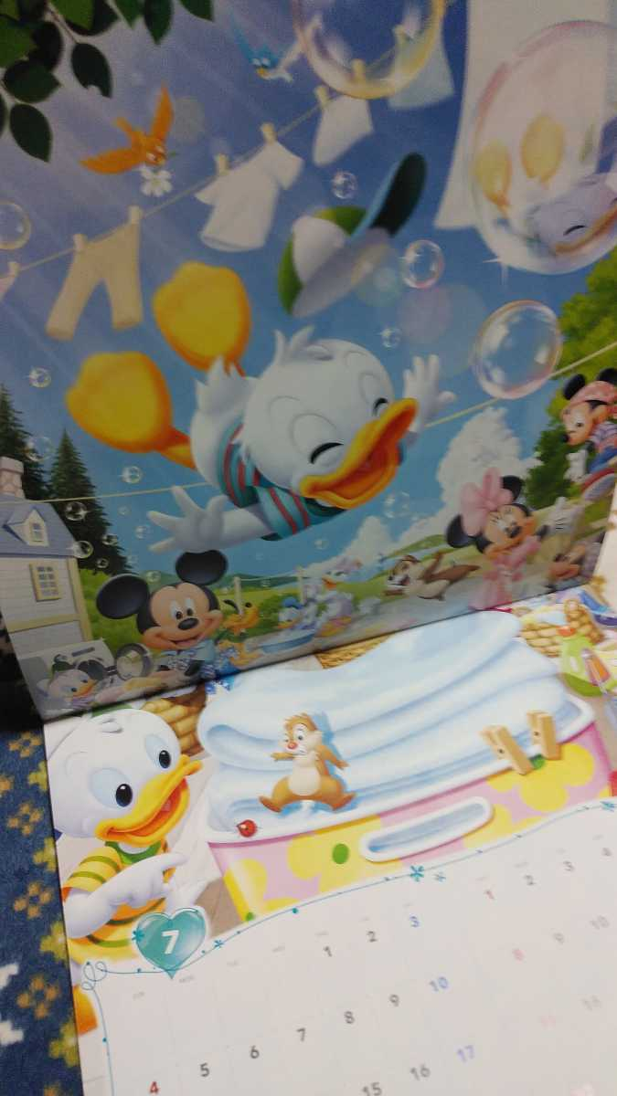 ディズニー カレンダー 2021 壁掛け ミッキーマウス_画像5