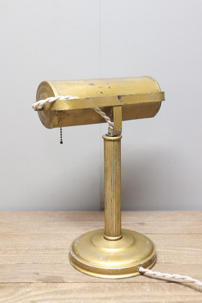 SL-24 デスクランプ ハンドペイント 真鍮ソケット 40s/ビンテージ アンティーク インダストリアル 工業系 照明 店舗什器 アメリカ スタンド_画像2